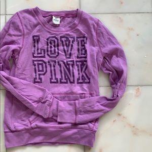 Pink Victoria's Secret sweat shirt